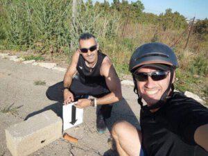 ריצת שטח בנחל אלכסנדר מייפיט